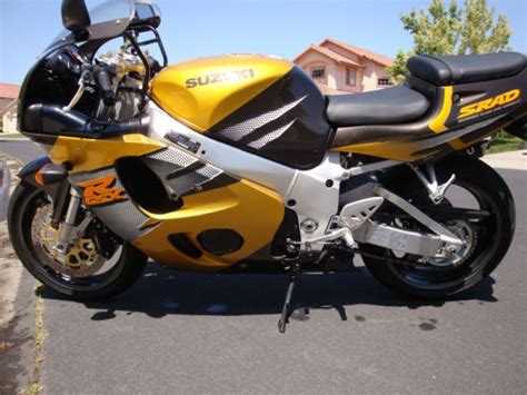 Suzuki Srad 750 For Sale Still Rad 1996 Suzuki Gsx R750 Srad Sportbikes For
