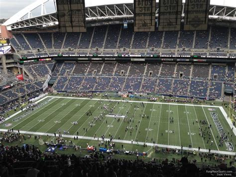 what sections are covered at centurylink field centurylink field section 333 seattle seahawks