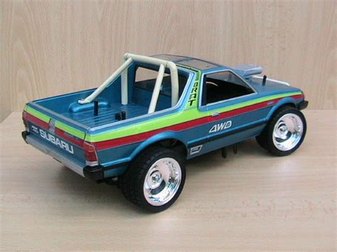 tamiya subaru brat 58038 subaru brat from kingpin showroom subaru brat