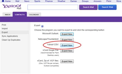 format csv yahoo mail how to import an email list thunder mailer mass