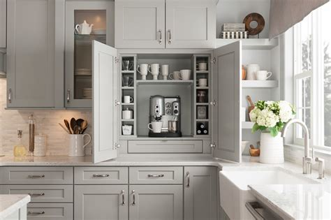 cottage painted linen cabinets transitional kitchen build today s trends with painted stone