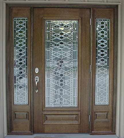 Modern Front Door Custom Doors Leaded Glass Entry Doors Beveled Glass Front Door