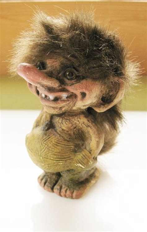 Handmade Trolls - vintage nyform troll 18 magic gnome