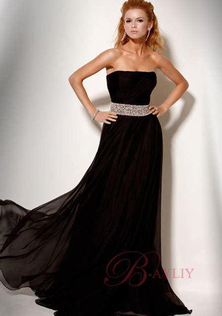 The Evening Black Dress 1 black evening gown plus size style