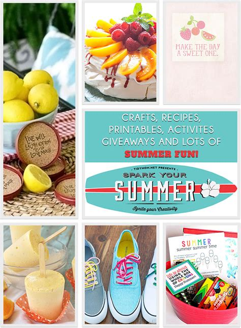 Fun Summer Giveaways - summer creative inspiration