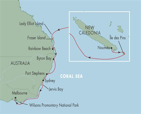 map of new caledonia and australia navigating new zealand s and south islands winter