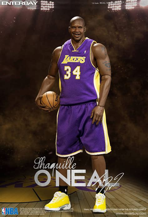 o neil figure nba shaquille o neal 1 6th scale figure duo pack