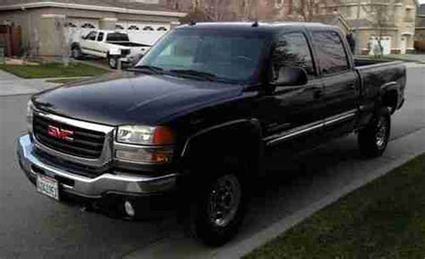 buy used 2003 gmc sierra 2500 hd slt crew cab 6 6l duramax diesel allison loaded nice in buy used 2003 gmc sierra 2500 hd slt crew cab pickup 6 6l duramax allison transmission in