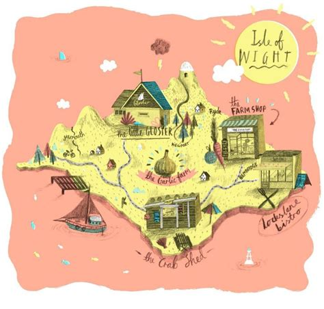 printable road map of isle of wight 72 best maps of the isle of wight images on pinterest