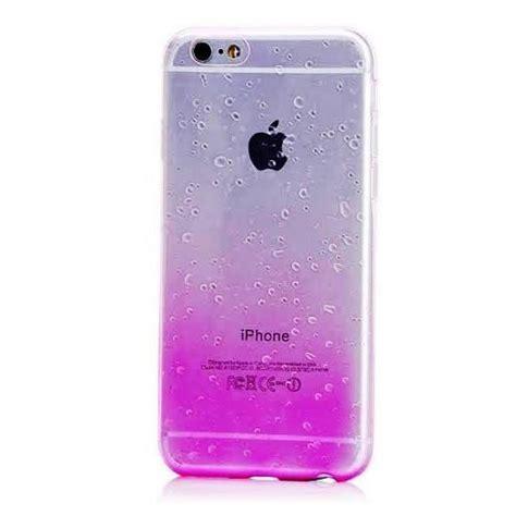 coque iphone 6 coque iphone 6s pas cher agr 233 able silicone gouttes de pluie coque