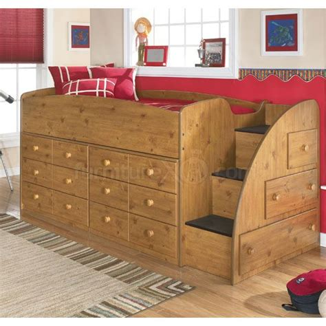 twin bed with dresser built in kids bed design wooden kids bed with drawers brown