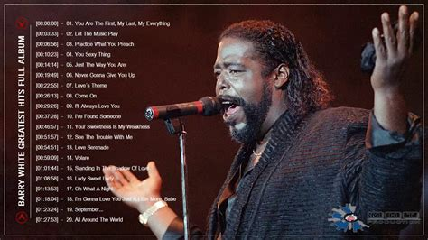 barry white best song barry white greatest hits barry white top songs