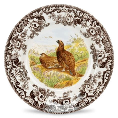 spode woodland birds 45 flatware spode woodland dinner plate grouse dinnerware