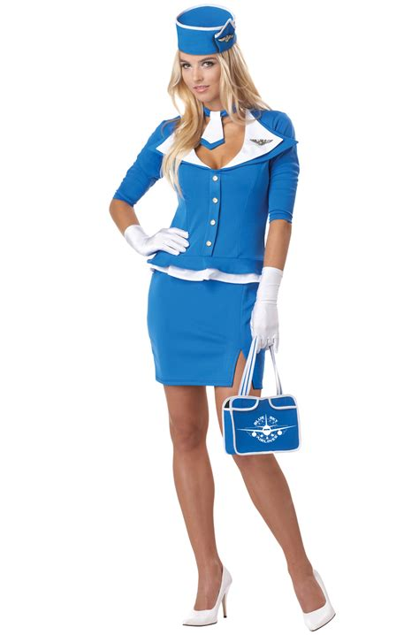 Air Hostess Pjs From by Air Flight Attendant Retro Stewardess