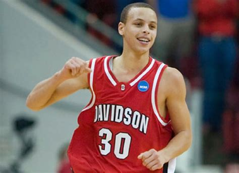 biography stephen curry video steph curry celebrates davidson college s ncaa