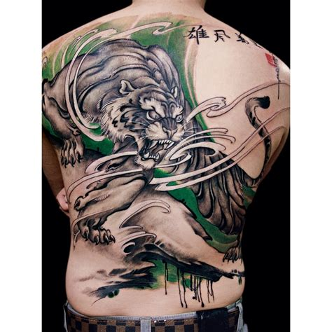 traditional chinese tattoo