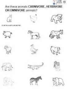 herbivore carnivore worksheet for kindergarten ceip