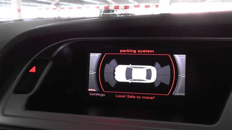 online auto repair manual 2003 audi a4 parking system audi a4 b8 parking sensors system demo 2008 to 2015 youtube