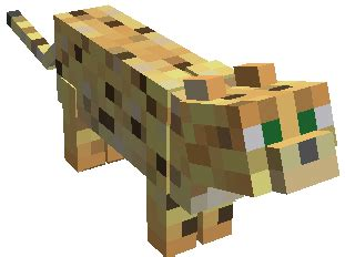 Leopard Big Pocket Edition 1 minecraft ocelot minecraft seeds pc xbox pe ps4