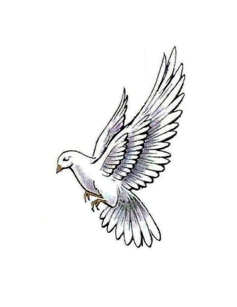 white dove tattoo flowers doves in flight dove in flight white dove