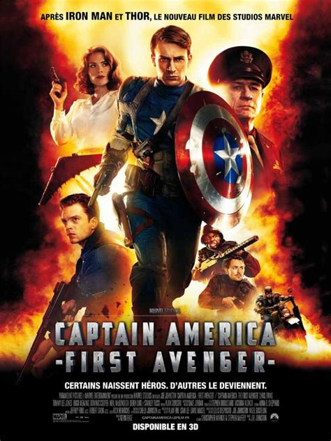 film online razbunatorii critique de capitaine america first avengers du super
