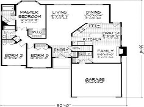 3 bedroom floor plans with garage 3 small house bedroom 3 bedroom house floor plans with