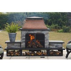 allen and roth outdoor fireplace pin by henderson on garden outdoors