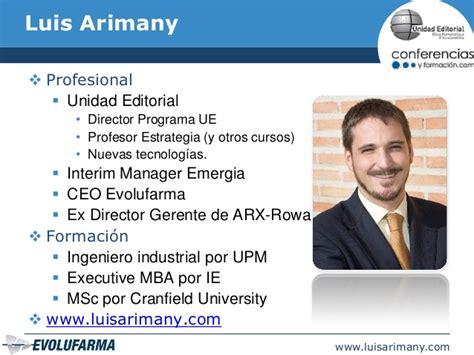 Mba Vrs Msc by Introducci 243 N A La Estrategia Y Al Balance Scorecard