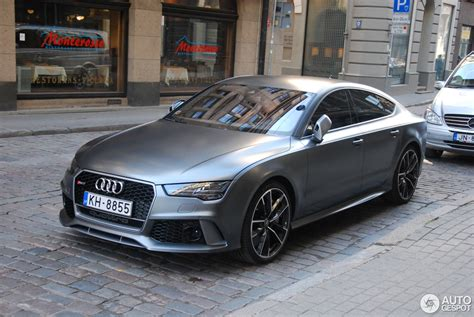 Audi Rs7 Performance by Audi Rs7 Sportback 2015 Performance 25 September 2016