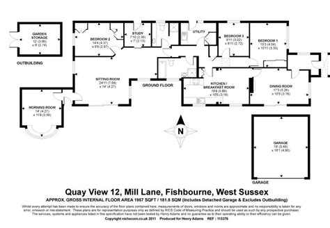 fishbourne palace floor plan 3 bedroom detached bungalow for sale in mill fishbourne chichester po19 po19
