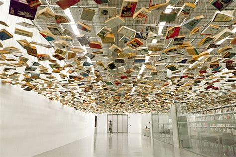 picture book museum suspended books modern museum museum and modern