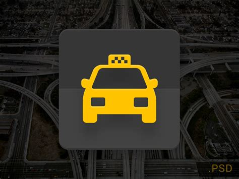 icon design nyc icon taxi material design psd materialup