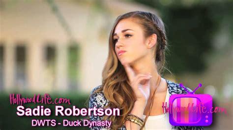 sadie robertson bedroom dwts duck dynasty sadie robertson s quot bedroom quot dance