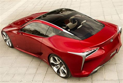 lexus lf lc price production lexus lf lc will be almost identical to concept