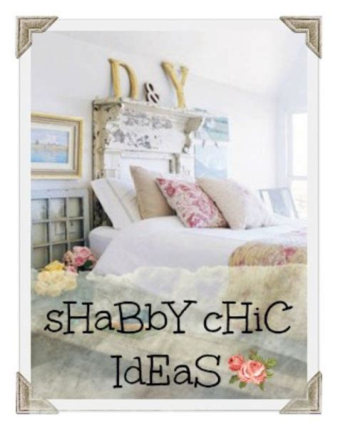 For decorating your bedroom in shabby chic french country style