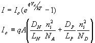 p n junction diode current equation derivation pn junction diodes the ideal diode equation