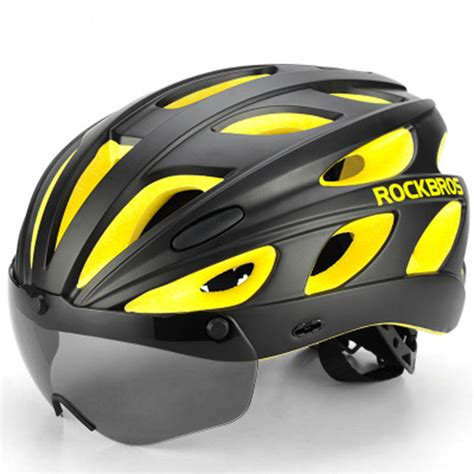 Inbike Helmet Magnetic Goggles Bike With 2 Lens Helm Sepeda Mx 9t other sport leisure rockbros bike magnetic helmet sunglasses bicycle helmet cycling