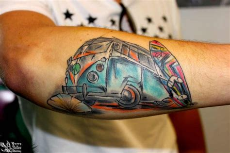 vw bus tattoo volkswagen tattoos