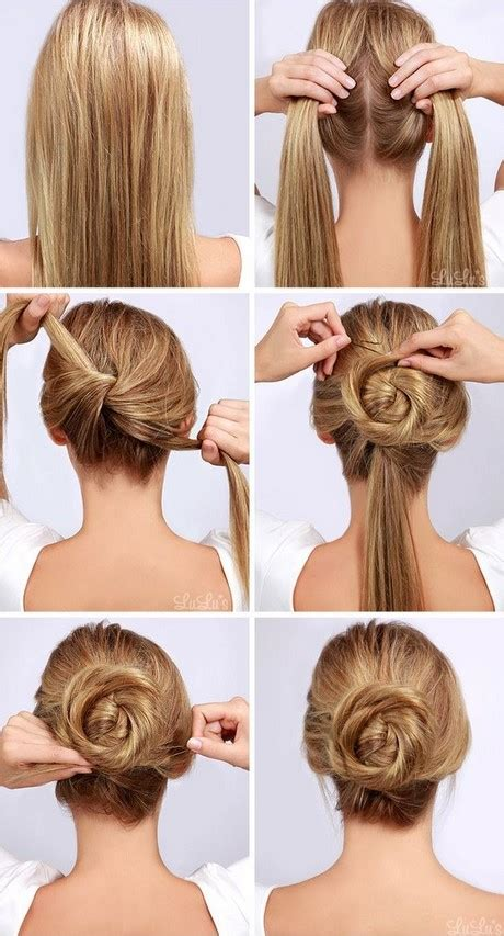 hairstyles to do at home step by step simple hairstyles to do at home