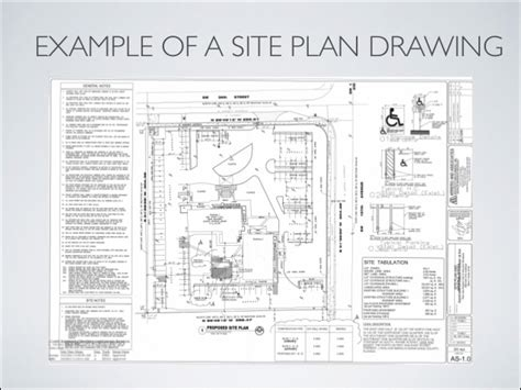 how to draw a site plan for a building permit blueprint reading introduction