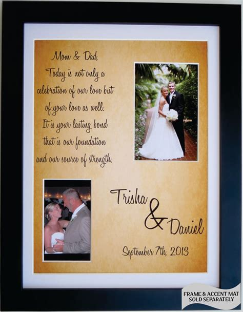 thank you letter to groom s parents thank you wedding gift for parents of groom by picmats