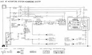 1994 mazda rx 7 s at starting system and charging system wiring diagram schematic wiring