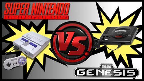 sega is better than nintendo battle for better snes vs genesis gamester 81