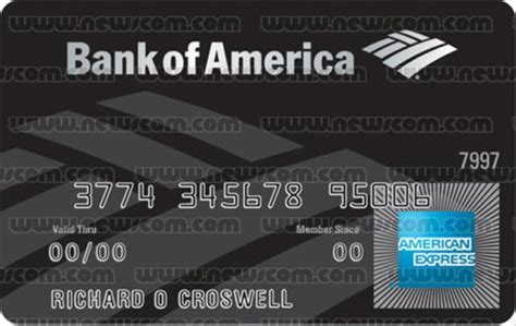 Bofa Visa Gift Card - the bank of america bac amex accolades card the black card centurion card visa
