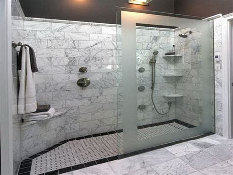 walk in shower with bench dimensions here s a large walk in shower that has no doors only a