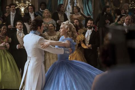 lily james on cinderella waist controversy why do cinderella s corset controversy or why everyone should