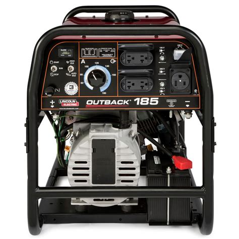 lincoln generators lincoln outback 185 engine welder generator w cover for