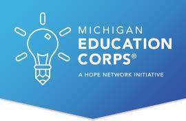 Corps Michigan Application Michigan Education Corps Math And Reading Tutoring Program