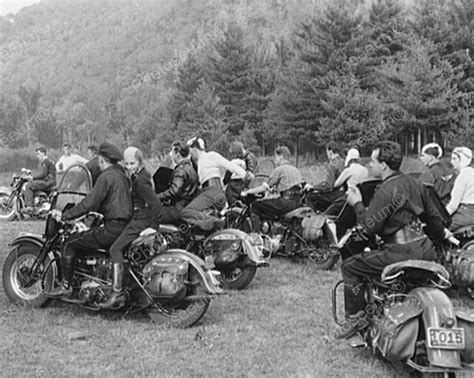 The Club Classic Reprint motorcycle bikers 1940s vintage 8x10 reprint of