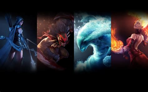 dota 2 characters wallpaper some character dota 2 2013 pc games free download